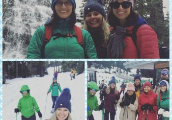 Snow Shoeing at Mt Hood with Muscles in Motion!