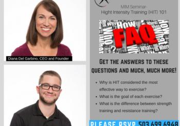 MIM Seminar Series- High Intensity Training 101