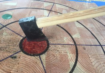 Portland Axe Throwing with Muscles in Motion