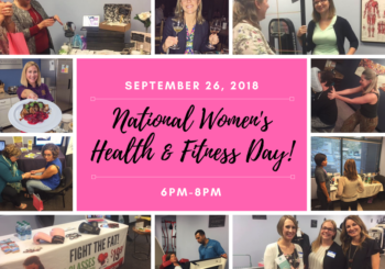 National Women's Health and Fitness Day 2018!